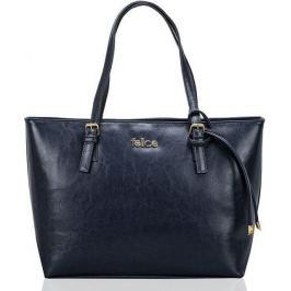 Kožená modrá kabelka FELICE (FL12 LUNA NAVY) Velikost: univerzální