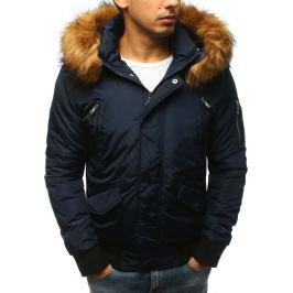 BASIC Krátká tmavě modrá zimní bunda (tx2460) Velikost: M