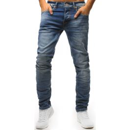 BASIC Modré pánské džíny (ux1536) Velikost: 28