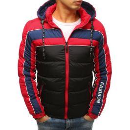BASIC Černá zimní prošívaná bunda (tx2485) Velikost: M