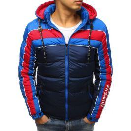 BASIC Modrá zimní prošívaná bunda (tx2487) Velikost: M