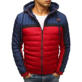 BASIC Červená zimní prošívaná bunda (tx2491) Velikost: M