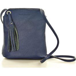 Tmavě modrá kabelka MARCO MAZZINI (L132g) Velikost: univerzální