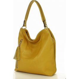 Hořčicová kabelka MARCO MAZZINI (s183e) Velikost: univerzální