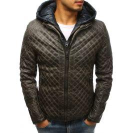 BASIC Pánská zimní khaki bunda (tx2521) Velikost: M