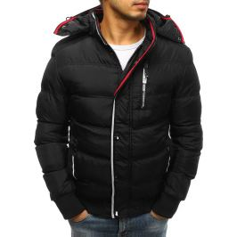 BASIC Černá zimní prošívaná bunda (tx2523) Velikost: M