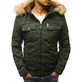 BASIC Zelená zimní bunda (tx2467) Velikost: 2XL