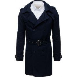BASIC Pánský fashion tmavě modrý kabát (cx0391) Velikost: M