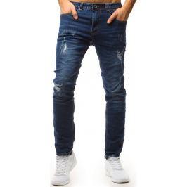 BASIC Pánské modré džínové kalhoty (ux1559) Velikost: 32