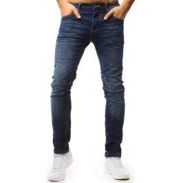 BASIC Pánské modré džínové kalhoty (ux1562) Velikost: 30