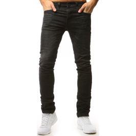 BASIC Pánské černé džínové kalhoty (ux1564) Velikost: 30
