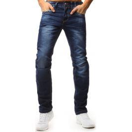BASIC Pánské modré džínové kalhoty (ux1569) Velikost: 29