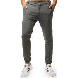 BASIC Pánské antracitové jogger kalhoty (ux1476) Velikost: 29