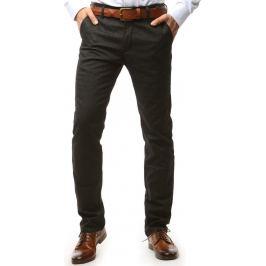 BASIC Pánské grafitové džínové kalhoty (ux1535) Velikost: 29
