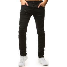 BASIC Pánské černé džínové kalhoty (ux1549) Velikost: 30