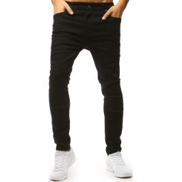BASIC Pánské černé džínové kalhoty (ux1550) Velikost: 28