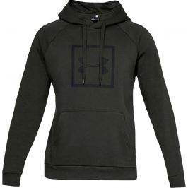 Under Armour Rival Fleece Logo Hoodie  1329745-357 Velikost: L