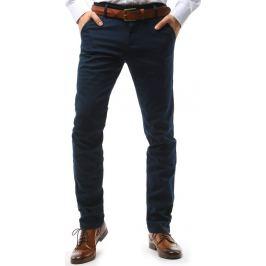 BASIC Pánské modré kalhoty (ux1578) Velikost: 30