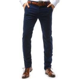 BASIC Pánské modré kalhoty (ux1585) Velikost: 29