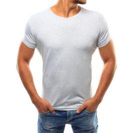 BASIC Pánské šedé triko (rx2586) Velikost: 2XL