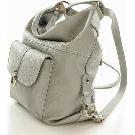 VEROSTILO Dámská šedá taška - batoh s116c Velikost: univerzální
