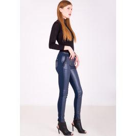 BASIC Modré dámské kalhoty S0210 Velikost: XL