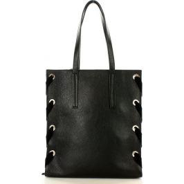 MAZZINI Černá shopper kabelka (368a) Velikost: univerzální