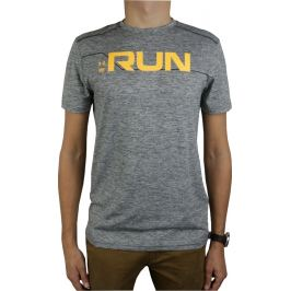 Under Armour Run Front Graphic SS Tee 1316844-952 Velikost: L