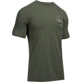 Zelené sportovní triko UNDER ARMOUR Mantra SS 1289893-330 velikost: XS, odstíny barev: zelená