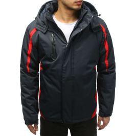 BASIC Pánská modrá bunda (tx2580) Velikost: L