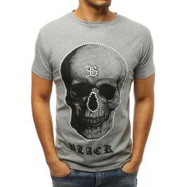 BASIC Pánské šedé tričko (rx3007) Velikost: M
