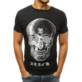 BASIC Pánské černé tričko (rx3009) Velikost: M