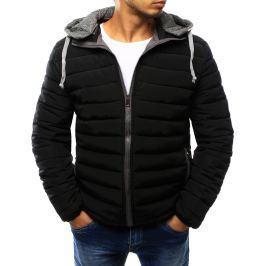 BASIC Černá prošívaná bunda (tx1759) velikost: 2XL, odstíny barev: černá