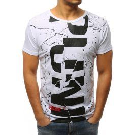 BASIC Bílé pánské tričko (rx3093) Velikost: L