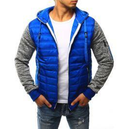 BASIC Modrá prošívaná bunda (tx1780) velikost: 2XL, odstíny barev: modrá