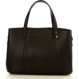 MAZZINI Černá shopper kabelka (376a) Velikost: univerzální