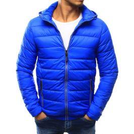 BASIC Modrá prošívaná bunda se zipem (tx1793) Velikost: 2XL