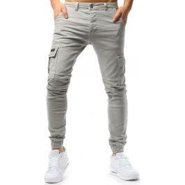 BASIC Pánské béžové džínové kalhoty (ux1725) Velikost: 36