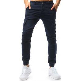 BASIC Pánské modré džínové kalhoty (ux1726) Velikost: 30