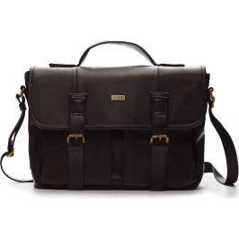 SOLIER Casual taška LANARK S11 - TORBA (S14 DARK BROWN) velikost: univerzální, odstíny barev: hnědá