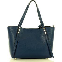 MAZZINI Modrá shopper kabelka (371c) Velikost: univerzální