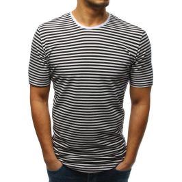 BASIC Tmavě modré pruhované tričko (rx3191) Velikost: S