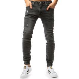BASIC Grafitové pánské džíny (ux1763) Velikost: 29