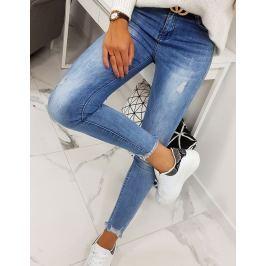BASIC Dámské džínové kalhoty (uy0145) Velikost: 34