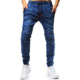 BASIC Modré pánské jogger kalhoty (ux1765) Velikost: 2XL