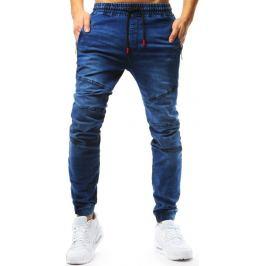 BASIC Modré pánská jogger kalhoty (ux1767) Velikost: M