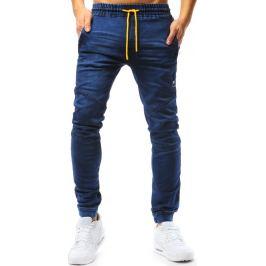 BASIC Modré pánské jogger kalhoty (ux1769) Velikost: 2XL