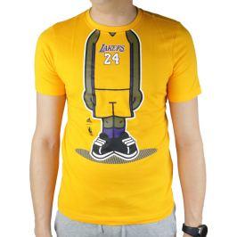 Adidas Youth GFX PL LA Lakers Tee G77938 Velikost: 128