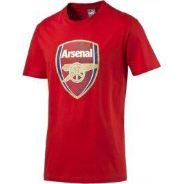 Červené triko PUMA Arsenal Football Club Fan Tee Junior 74929701 velikost: 176, odstíny barev: červená