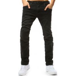 BASIC Černé pánské kalhoty (ux1791) Velikost: 33